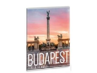 Világ városai - Budapest Hősők tere - A/4 vonalas