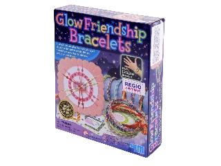 Világító barátság karkötők