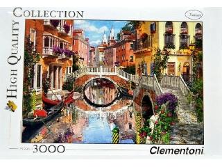 Virágos Velence 3000 db-os puzzle