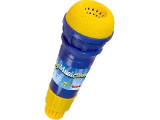 Visszhangos mikrofon kék