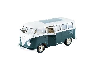 Volkswagen T1 zöld színű 1:24