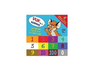 Vuk és a számok - Ismerd meg a számokat a kisrókával! könyv