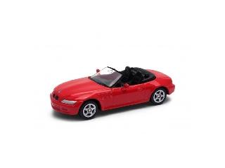 Welly BMW Z3 piros kisautó, 1:60-64