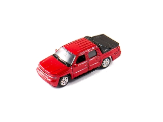 Welly Chevrolet Avalanche 2002 bordó kisautó, 1:60-64