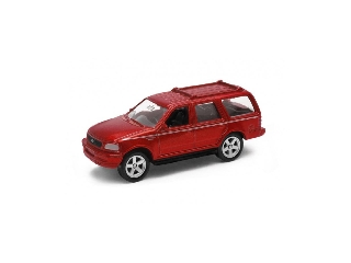 Welly Ford Expedition piros kisautó, 1:60-64