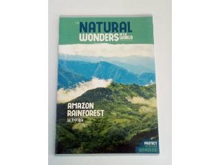Ars Una Natural Wonders Amazon Rainforest A/4 extra kapcsos füzet vonalas