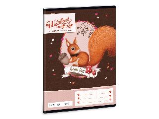 Woodland Magic A/5 sima füzet 2032