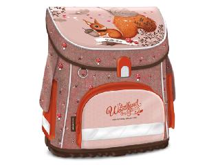 Woodland Magic kompakt easy mágneszáras iskolatáska + ajándék Activity Family társasjáték