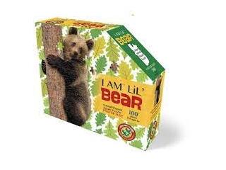 Wow, Puzzle junior 100 db - Medve