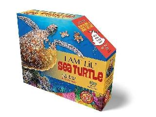 Wow puzzle junior 100 db Teknős