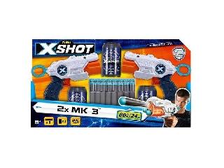 Xshot: 2 darabos MK 3 mini játékfegyver szett