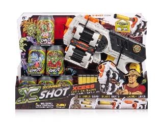 XShot Forgótáras pisztoly szett - Zombie