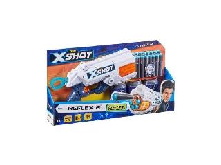 Zuru: Xshot Reflex 6 lövetű szivacslövő fegyver célponttal