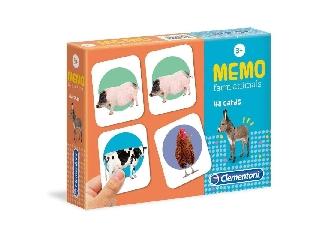 Zseb memória játék - Állatok a farmról
