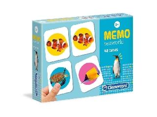 Zseb memória játék -Tengeri élőlények